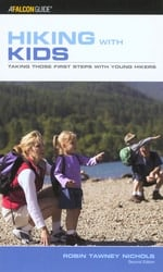 Hiking with kids cover