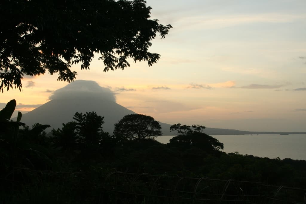 Ometepe sunset for docs