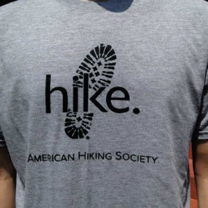 hike boot for t-shirt