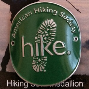 Hiking Stick Medallion