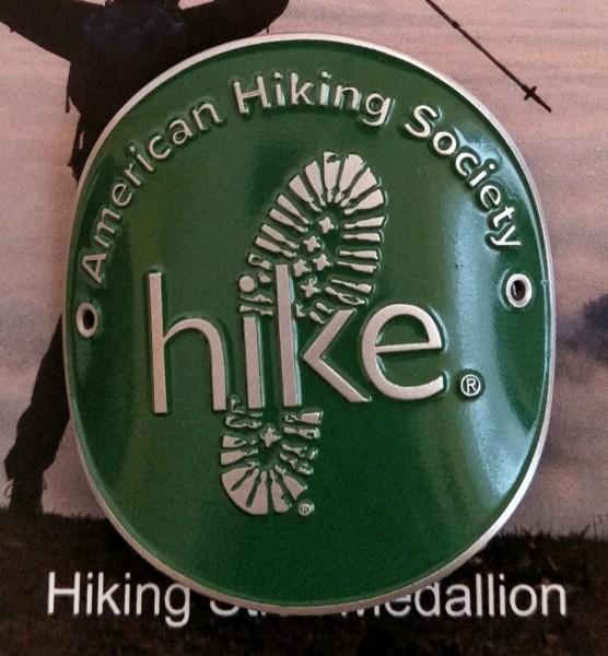 Hiking Stick Medallion