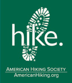 Hike. Sticker
