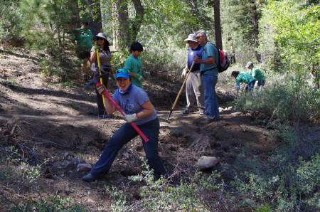 National Trails Day Saveria Tilden