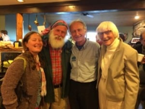 Jiamie & Gomer Pyles, Jim Kern, & Gudy Gaskill