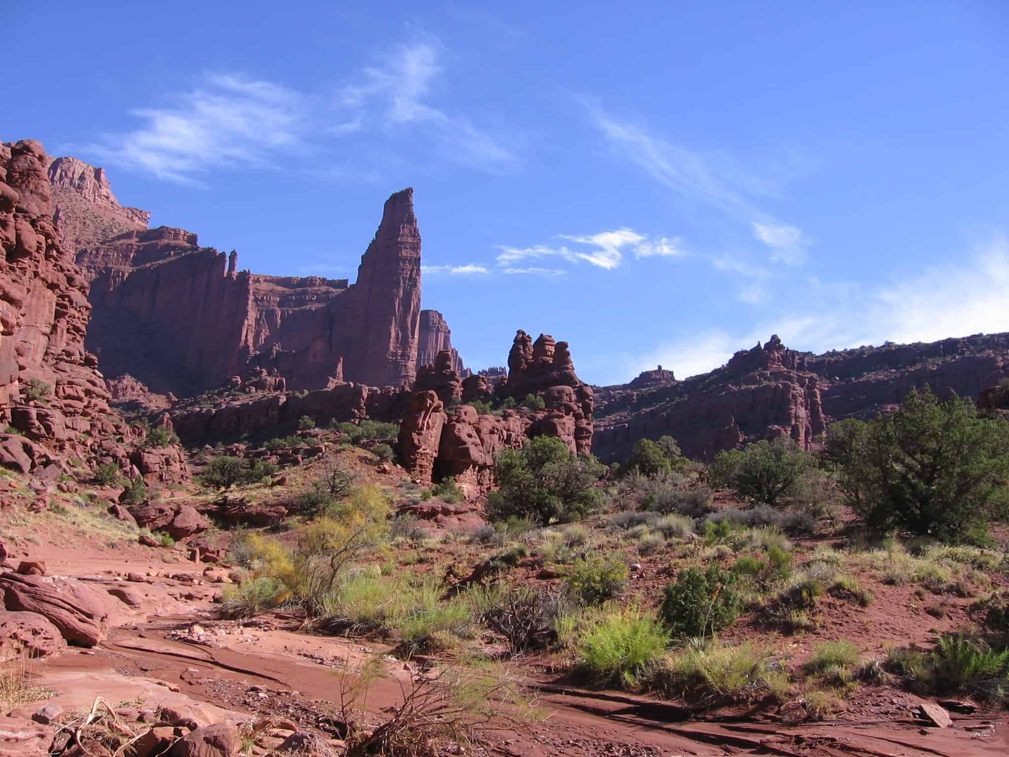 Fisher Towers In Southern Utah. Stock Photo - Image of