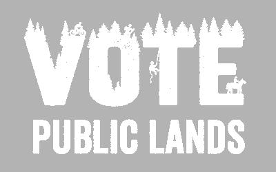 Vote Public Lands Graphic