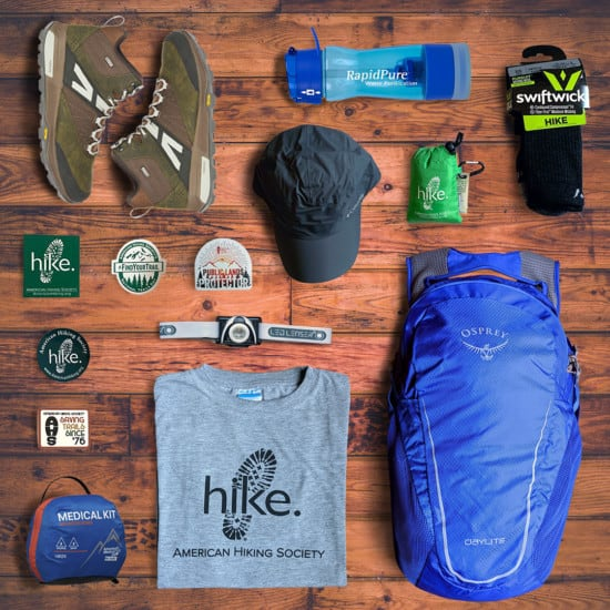 Public Lands Protector prize package of outdoor gear