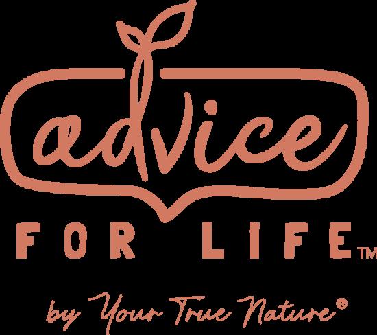 Advice for life orange logo