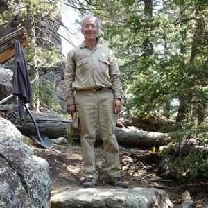 Robert J Weggel finishes a rock step